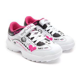 Sneakersy 5456100 Bianco/Nero-001-001783-20