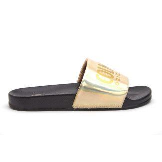 Klapki Slipper Lux 609 Blk/Gold-001-001862-20