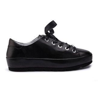 Sneakersy Mari Nappa Nero-000-012143-20