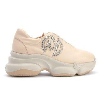 Sneakersy A382UGL Beige-001-001750-20