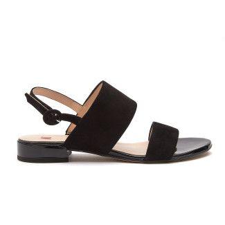 Sandały 9-101112 Schwarz Merry-001-001768-20