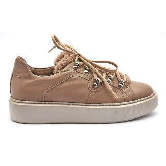 Sneakersy A404BOZ Beige-001-001932-20