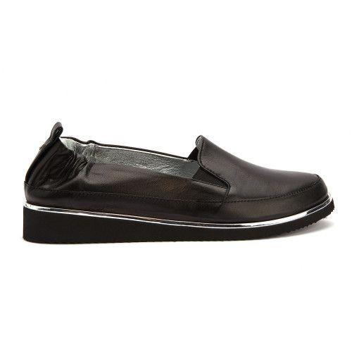 Bianca Di Pó?buty wsuwane - nero