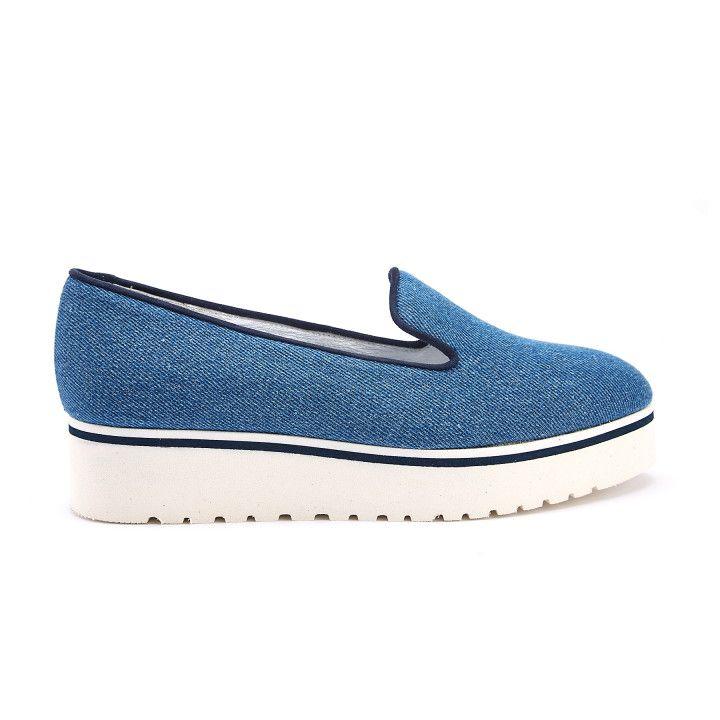 Półbuty wsuwane Moclight Tessuto Jeans-000-012133-20