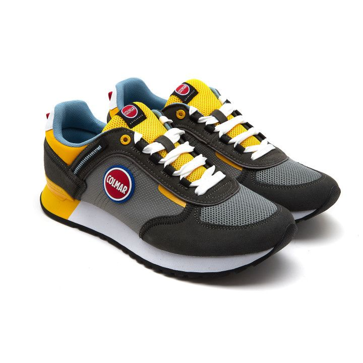 Sneakersy Travis Sport Colors 039 Gr/Yel-001-002156-20