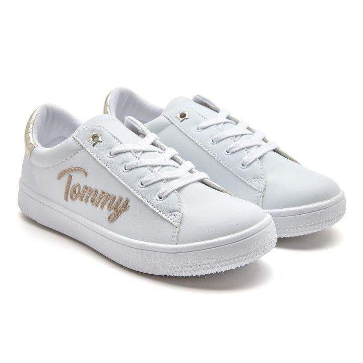 Sneakersy T3A4 White/Platinum-001-002145-20