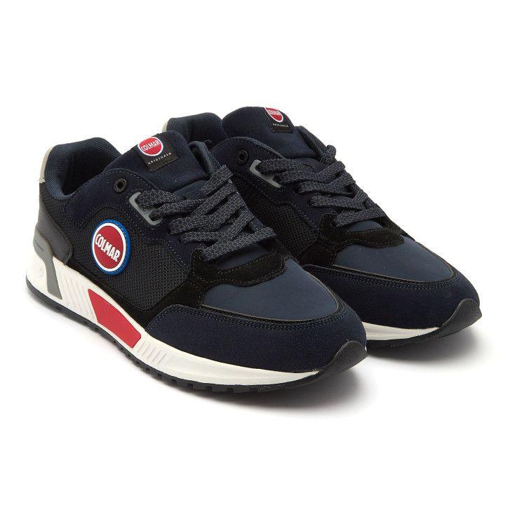 Sneakersy Dalton Sharp Navy/Gray/Red-001-002328-20