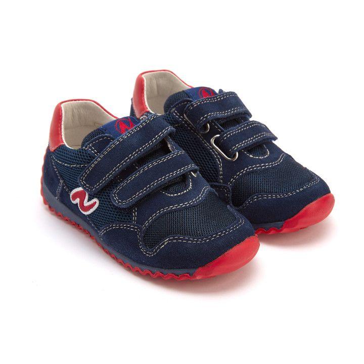 Sneakersy Sammy Navy/Rosso-001-001427-20