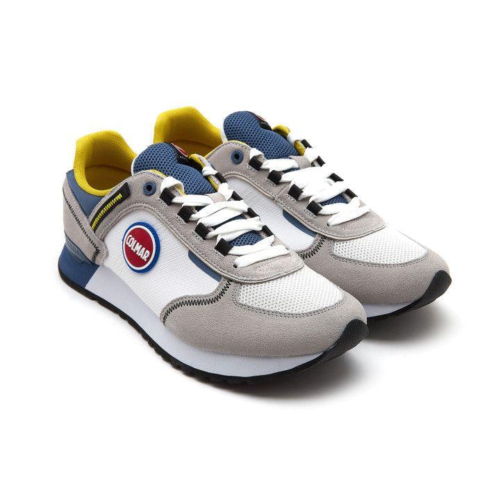 Sneakersy Travis Sport Colors 037 Wh/Blu-001-002157-20