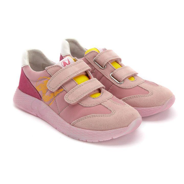 Sneakersy Jesko Rosa/Giallo/Fux-001-001776-20