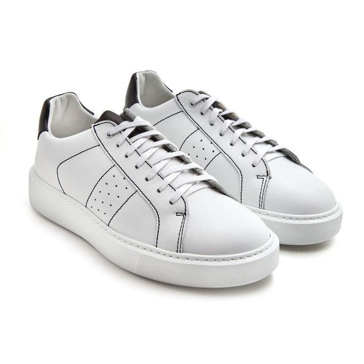 Sneakersy Alan Wht/Blk-000-012894-20