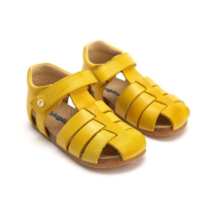Sandały Alby Giallo-001-001426-20