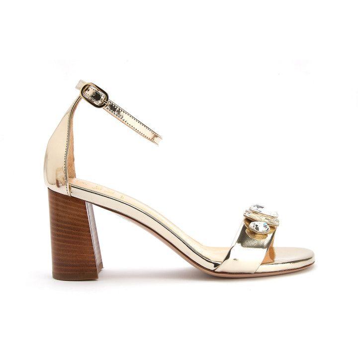 Sandały S554Met Platino-001-001756-20