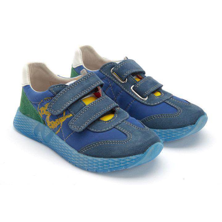 Sneakersy Jesko Azzurro/Giallo/Ver-001-001777-20