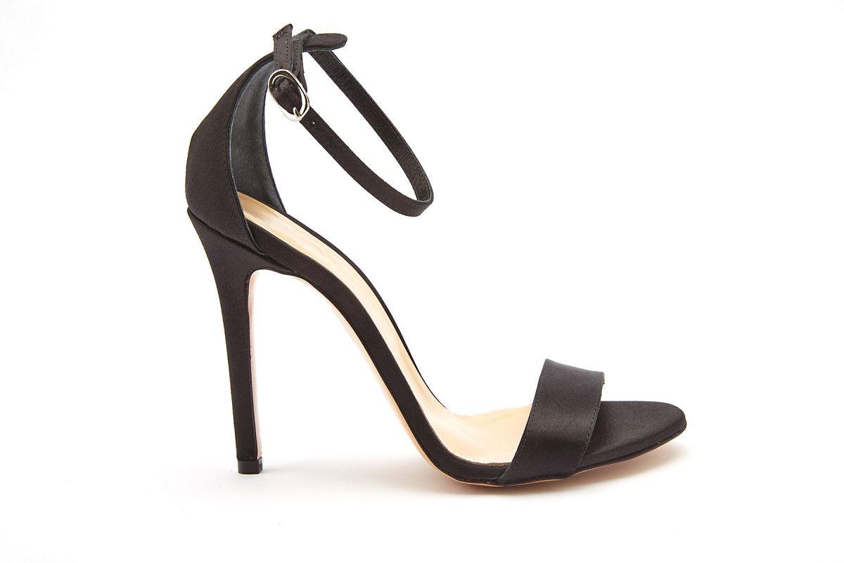 Sandały damskie na szpilce ICONE Daria Nero