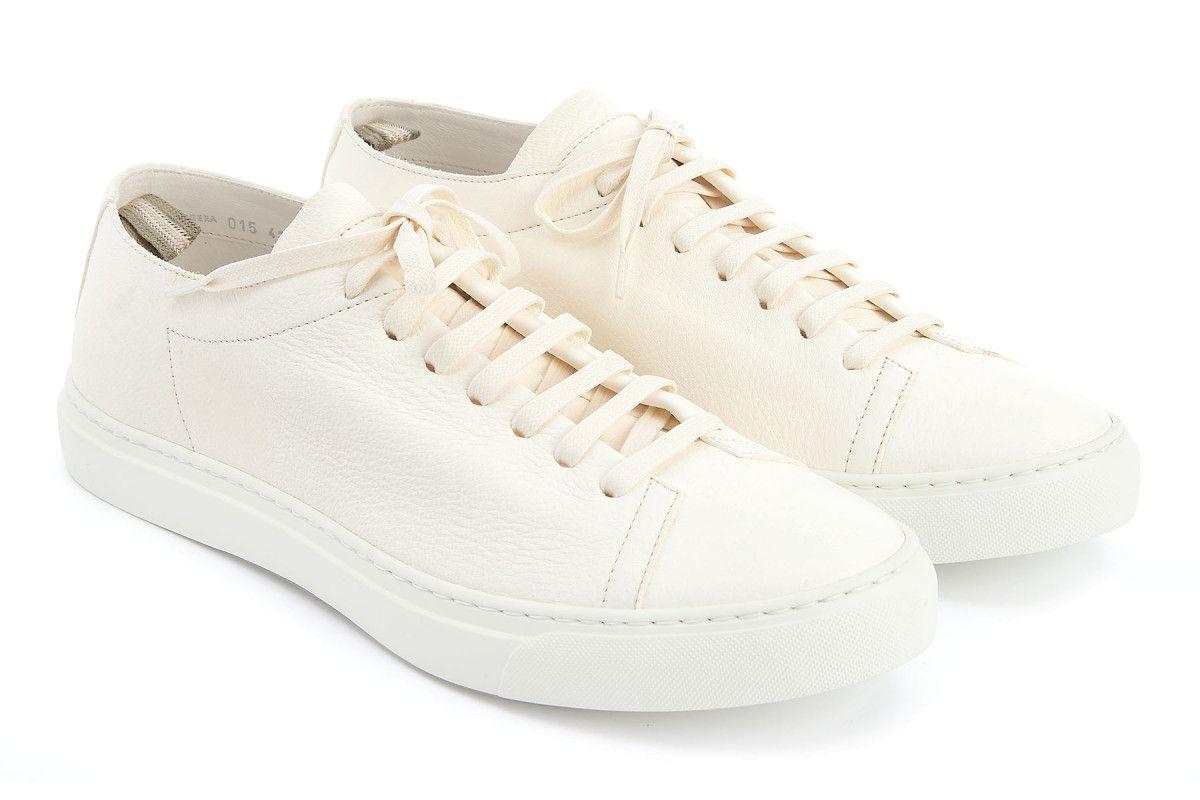 Sneakersy męskie OFFICINE CREATIVE Leggera 015 Bianco