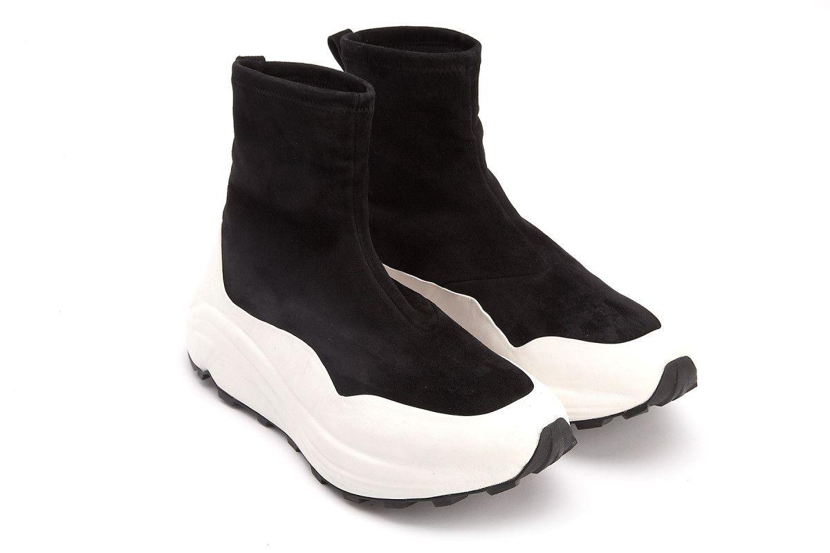 Sneakersy damskie botki OFFICINE CREATIVE Sphyke 107 Cam/Nero