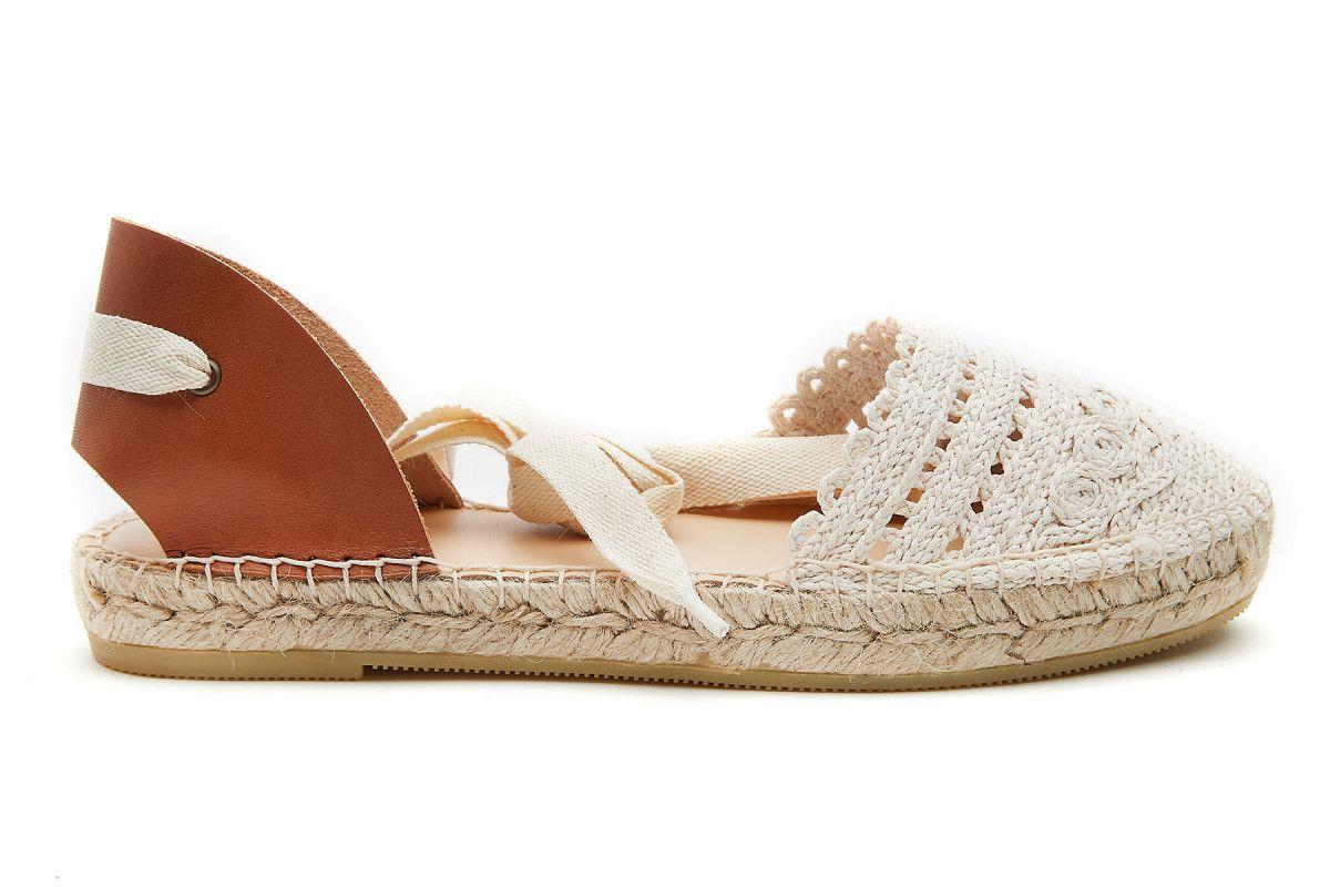sandały damskie beige
