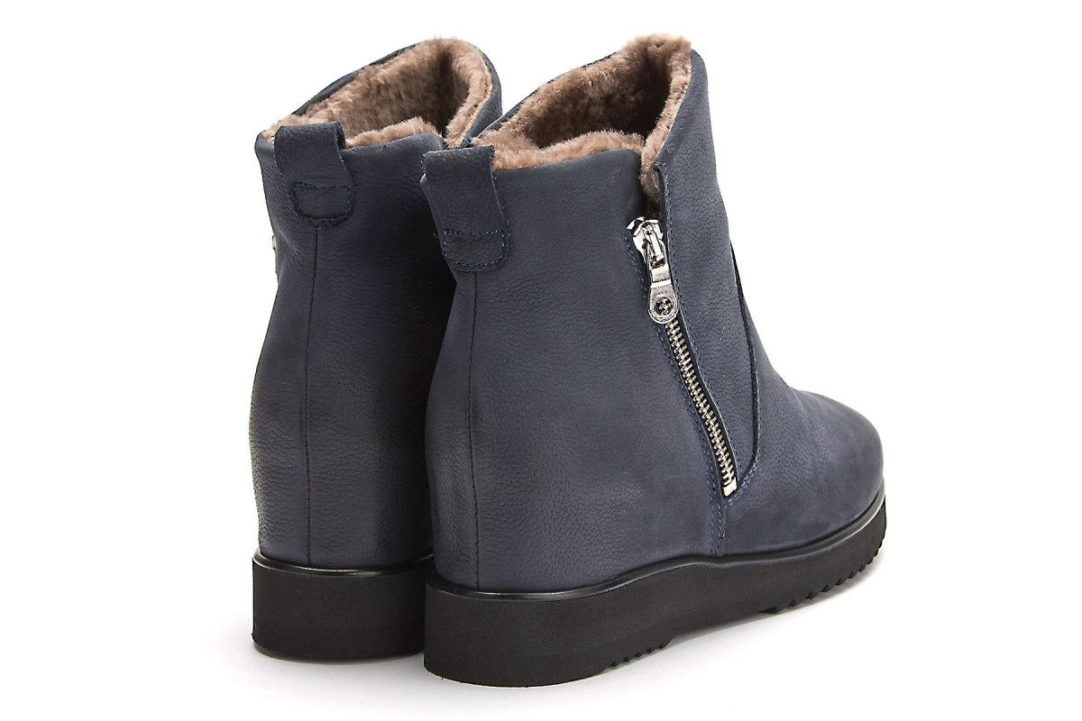 buty damskie ocieplane na koturnie