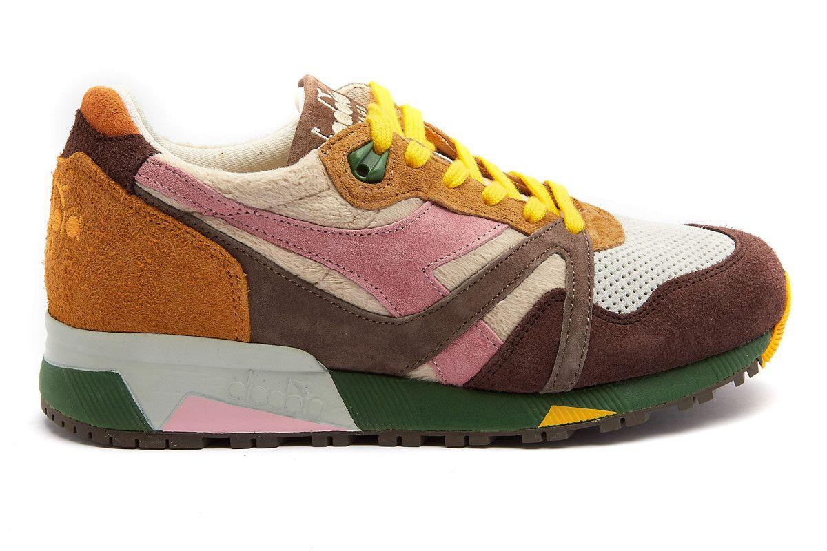 Sneakersy damskie DIADORA N9000 Leone