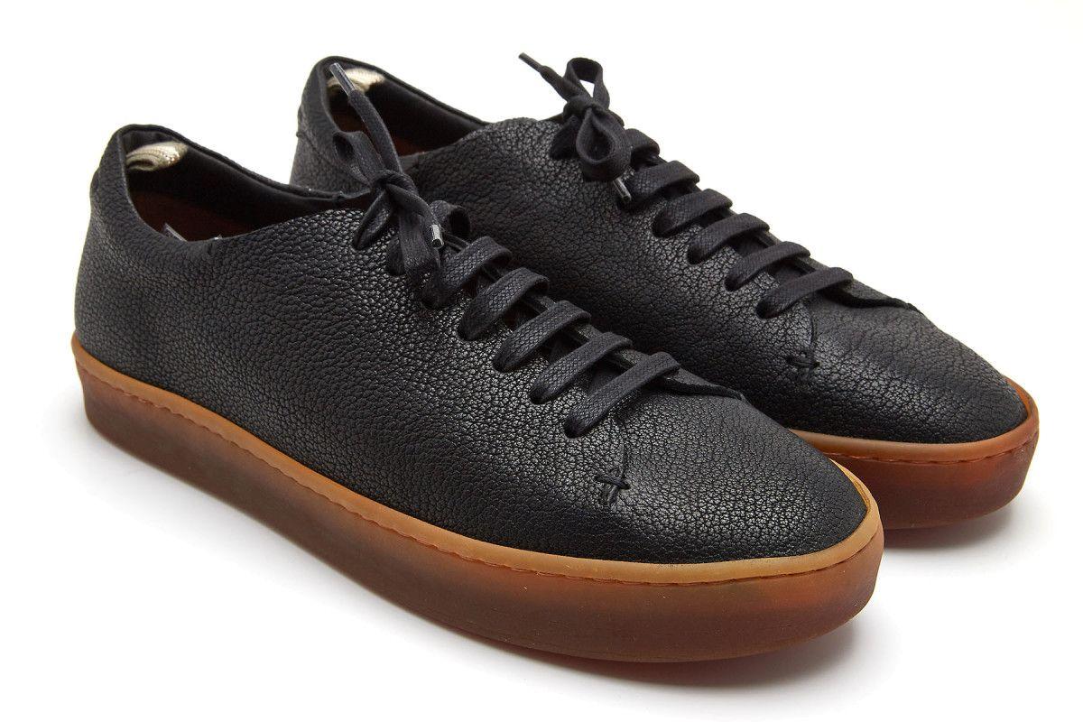 Sneakersy męskie OFFICINE CREATIVE Kreig 001 Nero