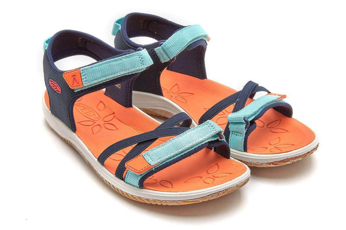 Sandały dziecięce KEEN Verano Black/Blue