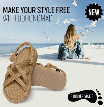 Sandały BOHONOMAD łączą miłość do mody z wygodą