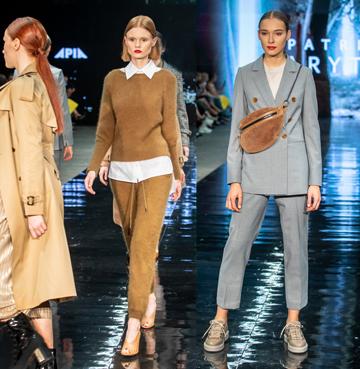 Modne kolory na wiosnę 2021 na pokazie mody APIA i Patrizia Aryton