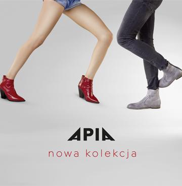 Kolekcja butów Apia wiosna/lato 2019