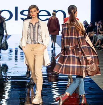 Wygoda - dominujący trend na pokazie mody APIA i Olsen