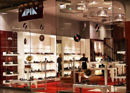 Salony obuwnicze APIA